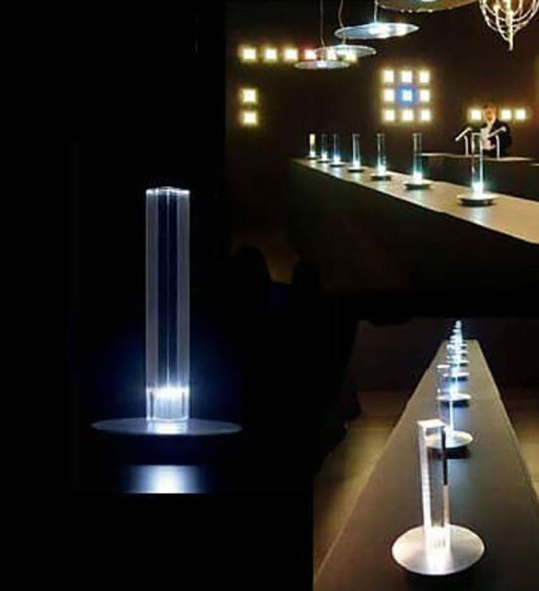 Contemporary Cand-LED Table Lamp by Marta Laudani & MarCo Romanelli for Oluce For Sale