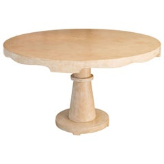 Candace Barnes Moroccan Inspired Round Center Table