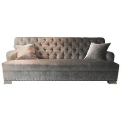 Candace Barnes Now Custom Tufted Back Sofa
