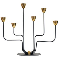 Candelabra by Gunnar Ander for Ystad Metall, Sweden