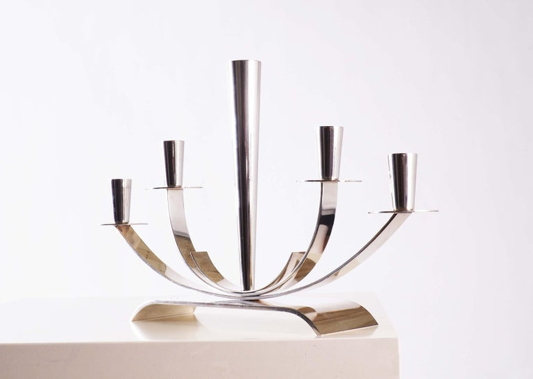 Swedish Candelabra from Ystad Metall in Sweden For Sale