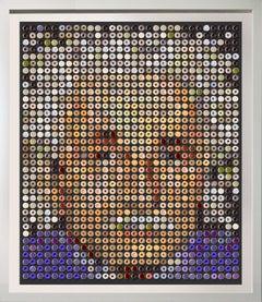 """Einstein Donuts"", One of a kind photographic arrangement on Rag paper"