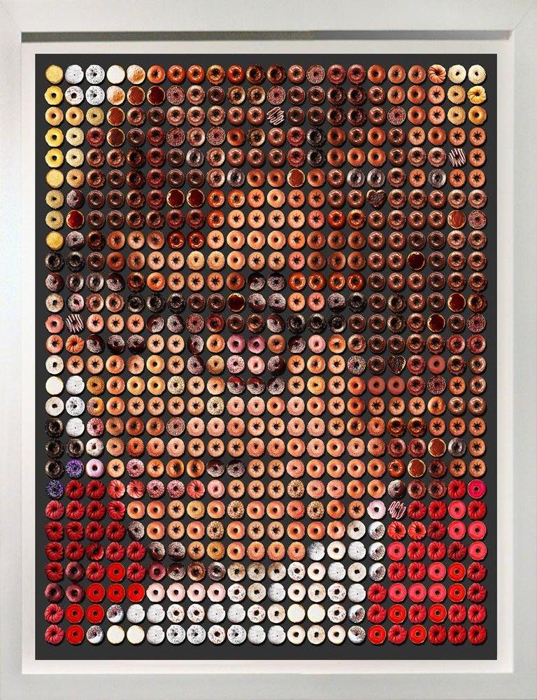"""Candice CMC Color Photograph - Mojo Donuts, 46x38"""" Pop Art photographic portrait arrangement on rag paper"""
