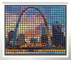 """""""St. Louis Sunset Donuts"""" photographic arrangement of Donuts on Rag paper"""