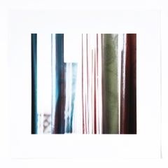 Colored Wood, Contemporary Photographer, Abstract Photography, 21st Century