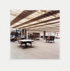 Universitätsbibliothek Hamburg B, C-print, Contemporary Art, Color Photography