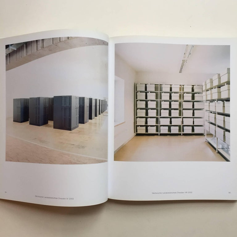 Published by Thames and Hudson, 2006  Candida Höfer is a master of the grand interior photograph, somehow translating the experience of witnessing a breathtaking space, into the form of a two-dimensional image. In this book, Höfer explores the