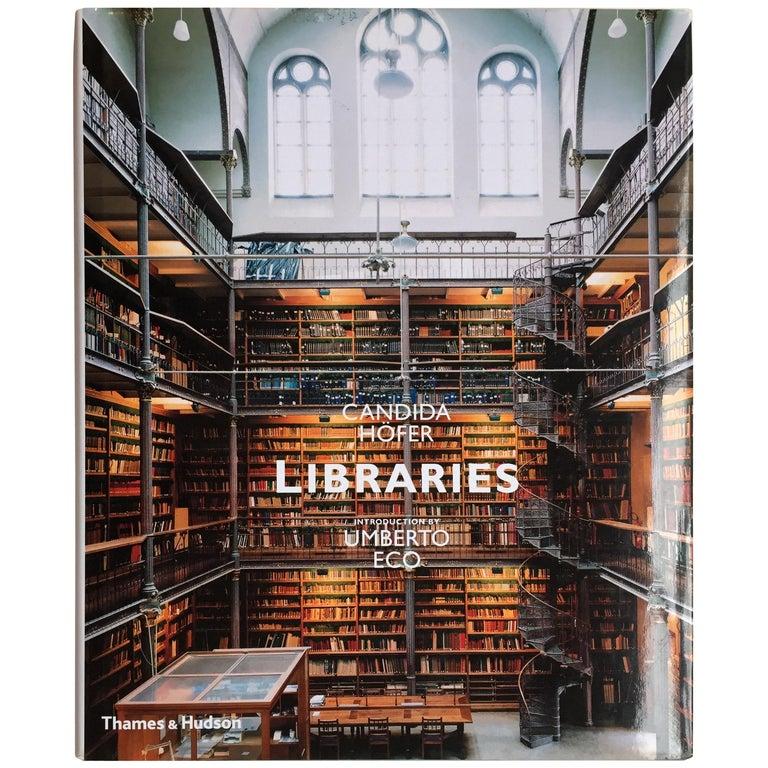 """Candida Höfer & Umberto Eco, Libraries"" Book For Sale"
