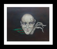 Personaje original surrealist acrylic painting