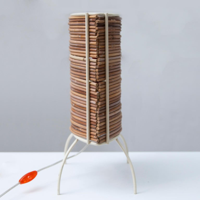 """Candle """"Bambu"""" Table Lamp, Campana Brothers by Fontana Arte, 2000 In Good Condition For Sale In Munich, DE"""