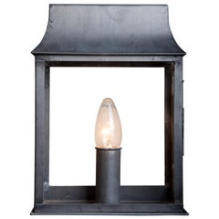 Candle House, Wall Luminaire in Zinc, for Outside or Inside
