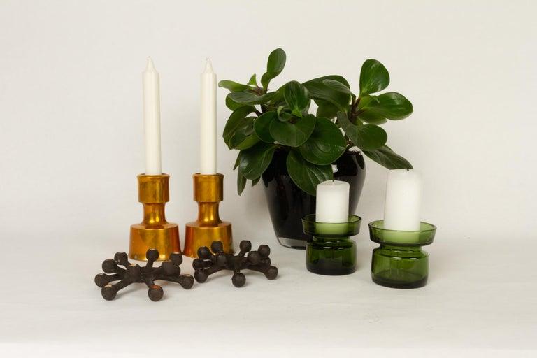 Candleholders by Jens H. Quistgaard for Dansk Designs 1960s Set of 7 For Sale 9