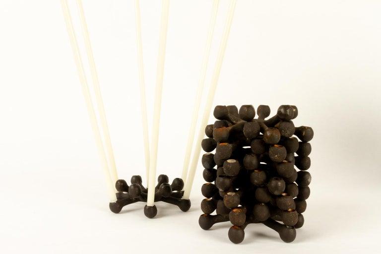 Candleholders by Jens H. Quistgaard for Dansk Designs 1960s Set of 8 For Sale 4