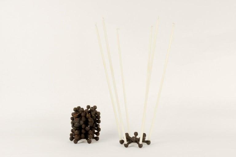 Candleholders by Jens H. Quistgaard for Dansk Designs 1960s Set of 8 For Sale 1