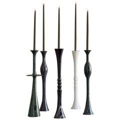 Candlesticks Set of 4 'Plat I, Plat II, Ove, and Flute'