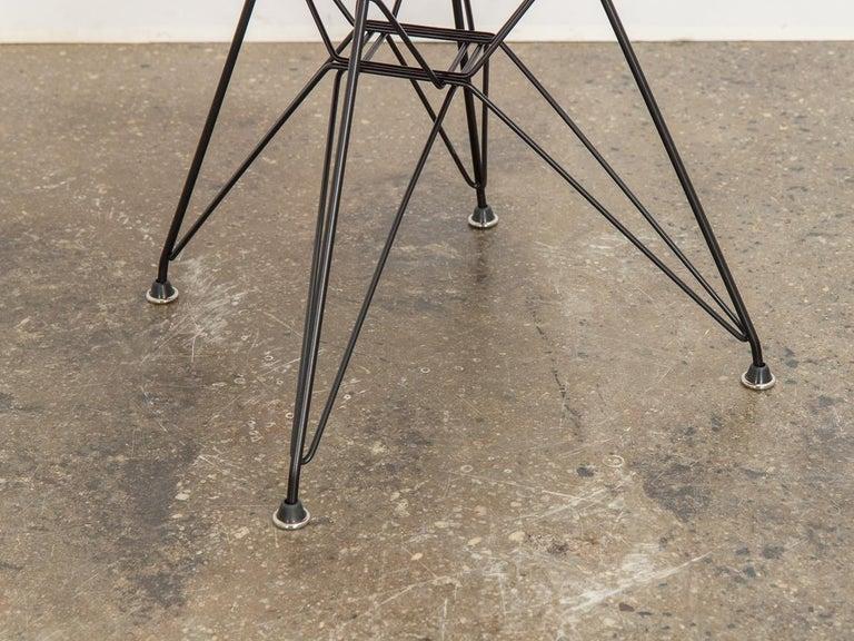 Molded Eames for Herman Miller Crimson Red Fiberglass Shell Chair For Sale