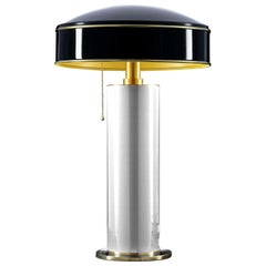 Candy White and Black Table Lamp