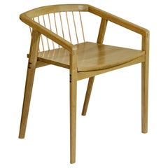 Canelinha Contemporary Chair in Brazilian Hardwood by Knót Artesanal