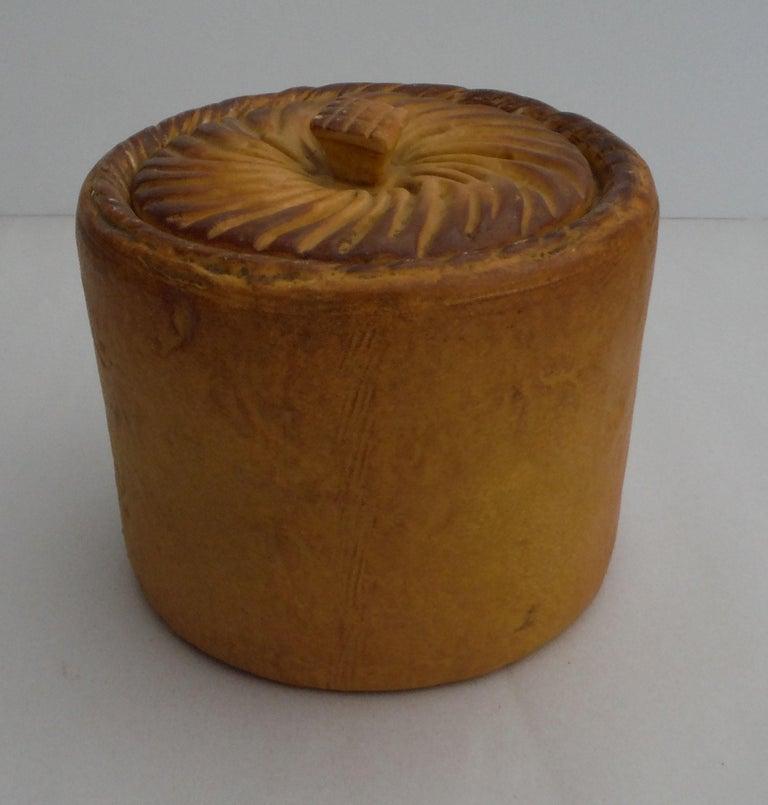 Ceramic Caneware Egg Basket Tureen For Sale