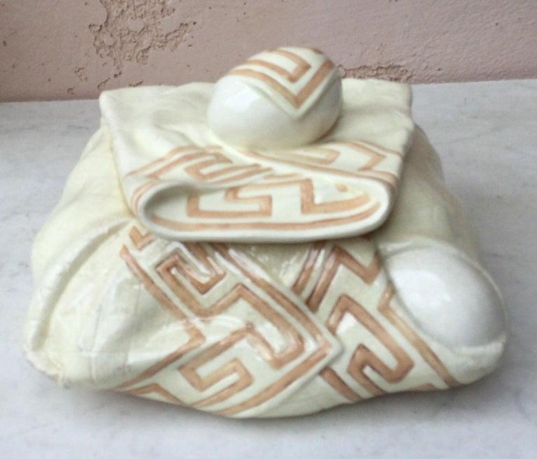 Caneware Egg Basket Tureen For Sale 2
