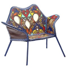 """Cangaço"" Contemporary Armchair, Brazilian Design"