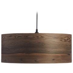 CANNEA Wood Drum Chandelier Pendant
