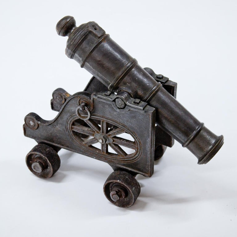 Iron Cannon, Probably 18th Century For Sale