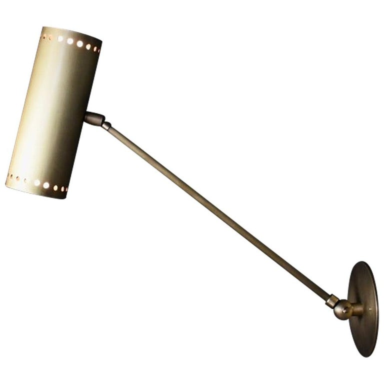 Cannula Modern Bronze Wall Lamp or Sconce by Blueprint Lighting, 2020 For Sale