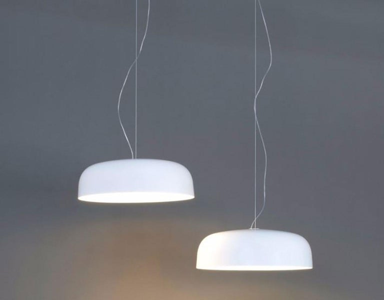 Canopy Suspension Lamp by Francesco Rota for Oluce In New Condition For Sale In New York, NY