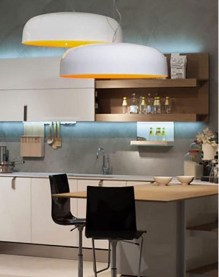 Contemporary Canopy Suspension Lamp by Francesco Rota for Oluce For Sale