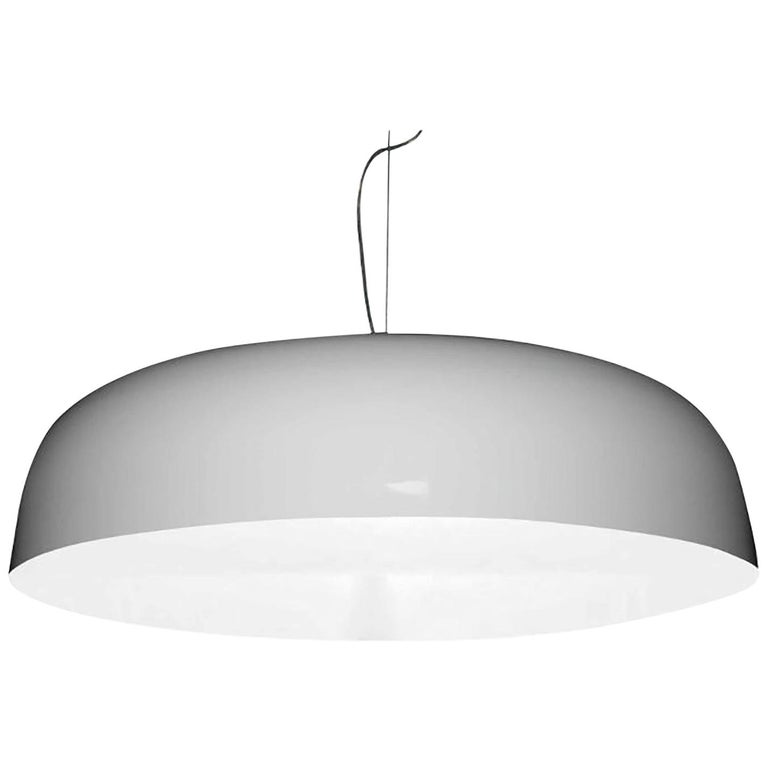 Canopy Suspension Lamp by Francesco Rota for Oluce For Sale