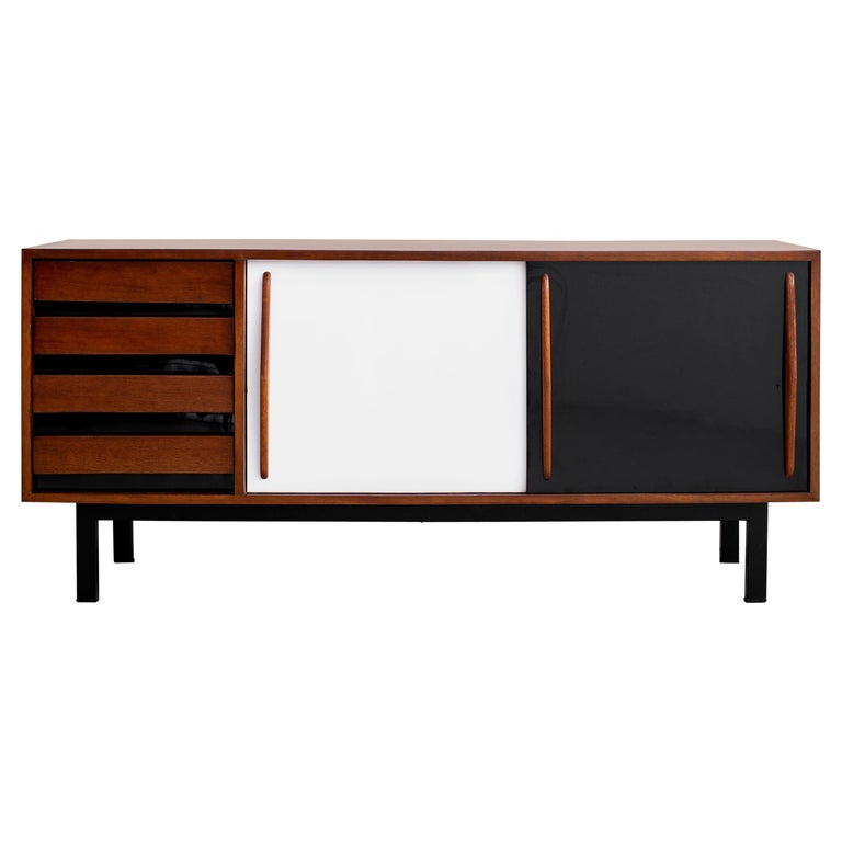 """Cansado"" Sideboard by Charlotte Perriand For Sale"