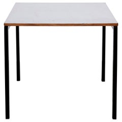 Cansado Table in Metal and Formica by Charlotte Perriand, circa 1950