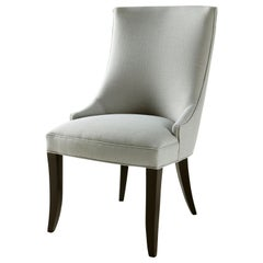 Canterbury Chair in Gray and Black by CuratedKravet
