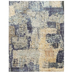 Canterbury Contemporary Wool and Silk Hand Woven Rug