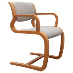 Cantilever Armchair Designed by Magnus Olesen, Denmark, 1975