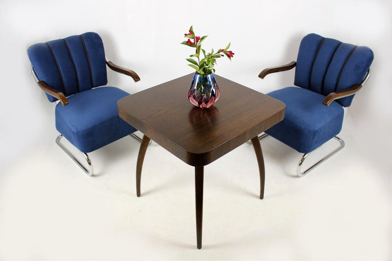 Cantilever Armchairs from Mücke Melder, 1930s, Set of Two For Sale 2