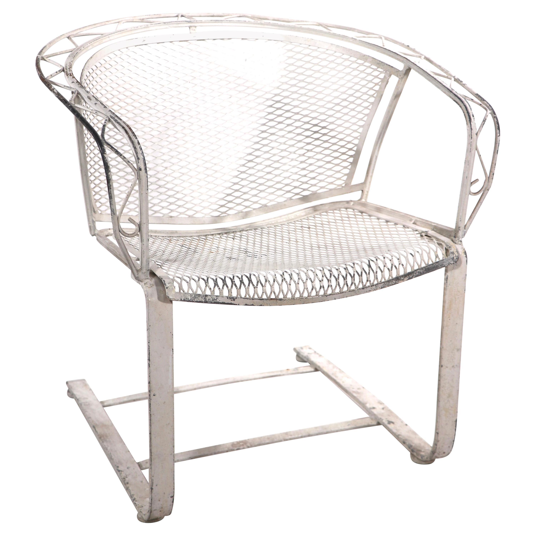 Cantilevered Salterini Lounge Patio Garden Chair