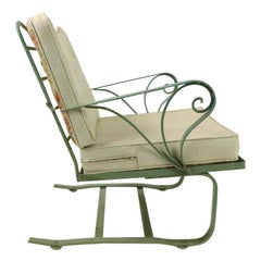Cantilevered Woodard Lounge Chair