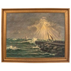 """Canvas """"Light During a Storm"""""""