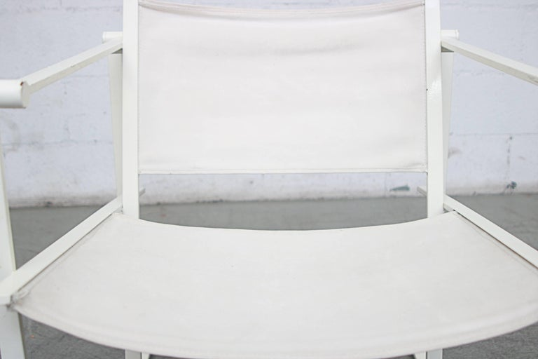 Canvas Pastoe Cube Lounge Chairs by Radboud Van Beekum For Sale 4