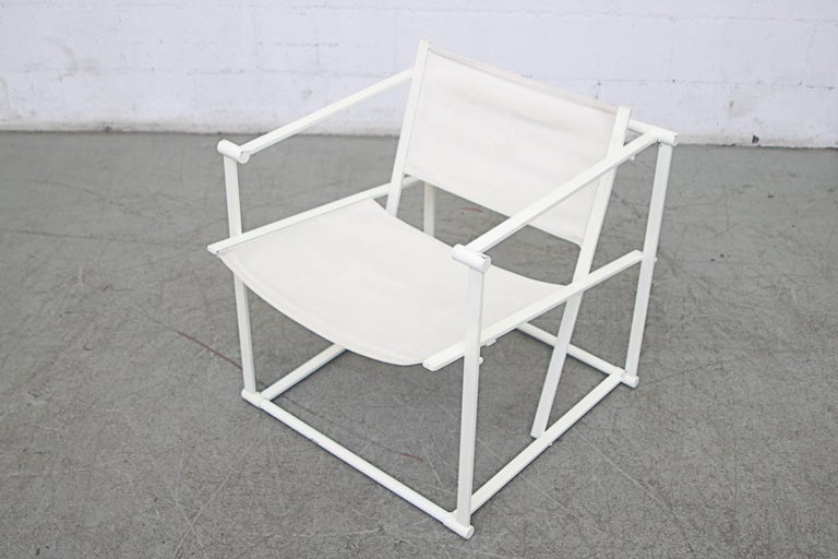 Mid-20th Century Canvas Pastoe Cube Lounge Chairs by Radboud Van Beekum For Sale