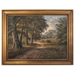 """Canvas """"Way in the Forest"""""""