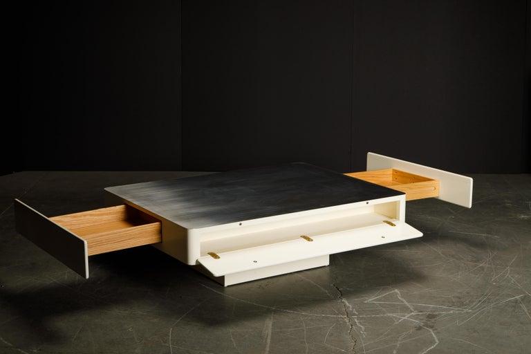 'Caori' Attributed Coffee Table by Vico Magistretti for Gavina  2