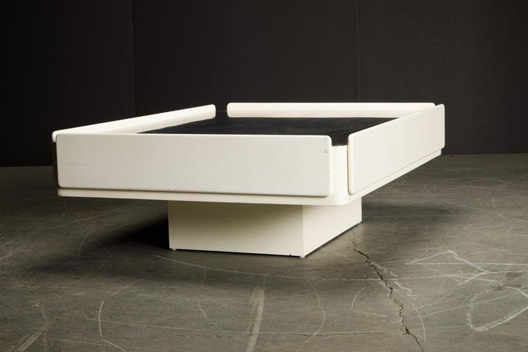 'Caori' Attributed Coffee Table by Vico Magistretti for Gavina  8