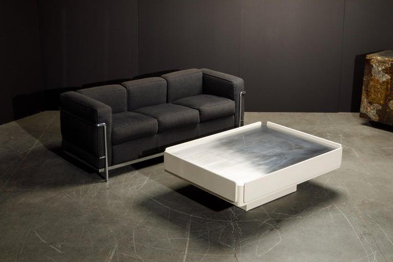 'Caori' Attributed Coffee Table by Vico Magistretti for Gavina  11
