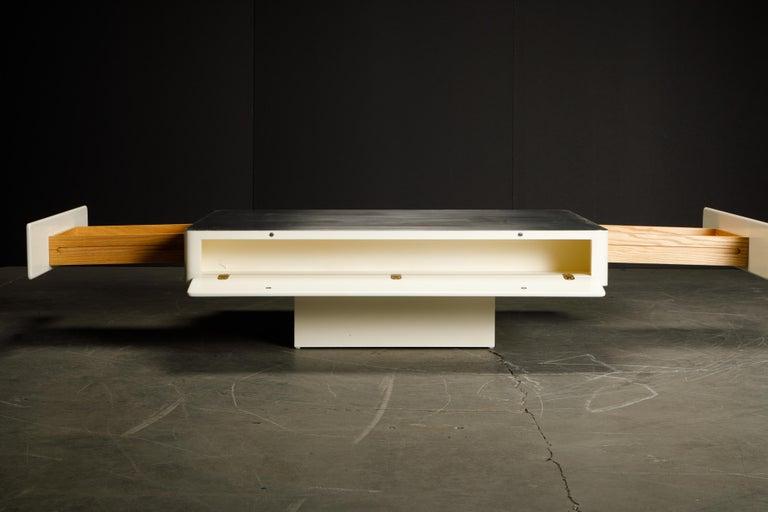 Wood 'Caori' Attributed Coffee Table by Vico Magistretti for Gavina