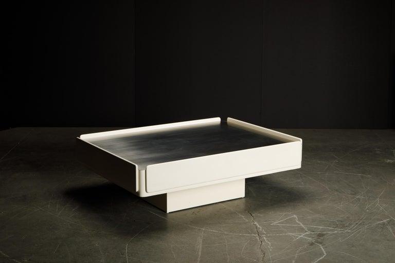 'Caori' Attributed Coffee Table by Vico Magistretti for Gavina  1