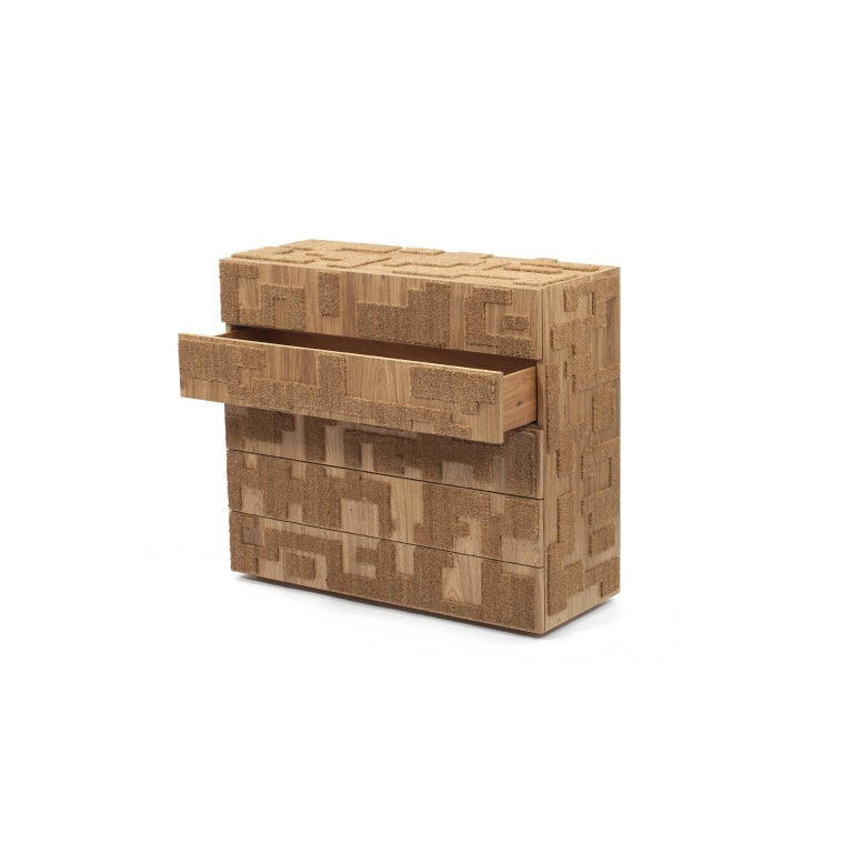 Capacho Contemporary Chest of Drawers by Fernando and Humberto Campana For Sale 1