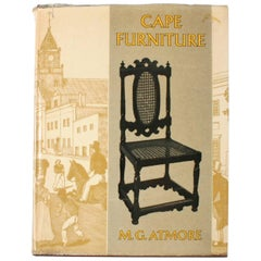 """Cape Furniture"" Book by M. G. Atmore"